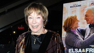 Shirley MacLaine estrena nueva película