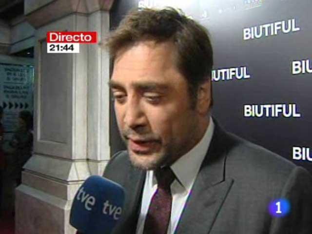 Javier Bardem se compromete a presentar el Tiempo de TVE si gana el Oscar