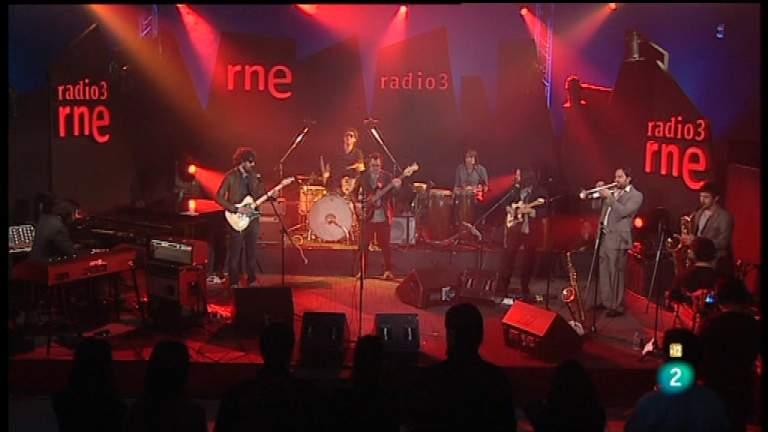 Los conciertos de Radio 3 - Siete Pulgadas Band