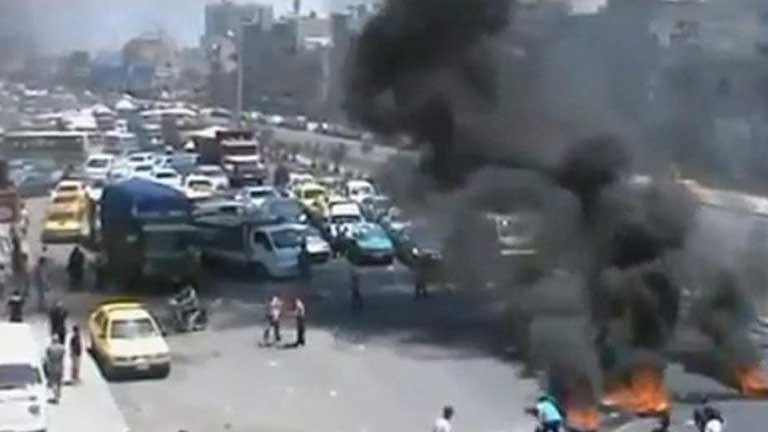 Al menos 1.200 personas escapan en las últimas horas al fuego cruzado en Damasco