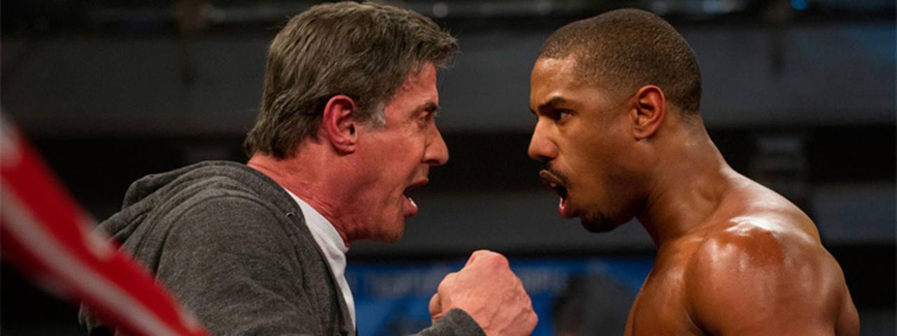 Silvester Stallone y Michael B. Jordan realizan grandes interpretaciones como Rocky y el hijo de Apollo Creed