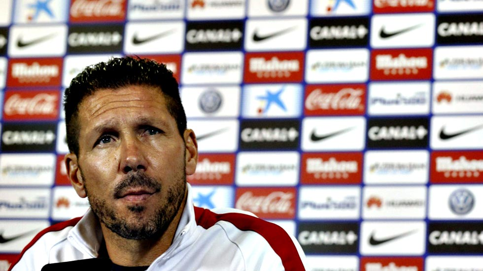 """Simeone: """"Buscamos un partido que no pudo ser y ganó justamente el rival"""""""