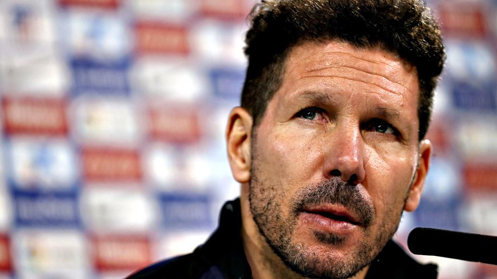 """Simeone: """"Las cinco últimos partidos de Liga dirán para qué estamos"""""""
