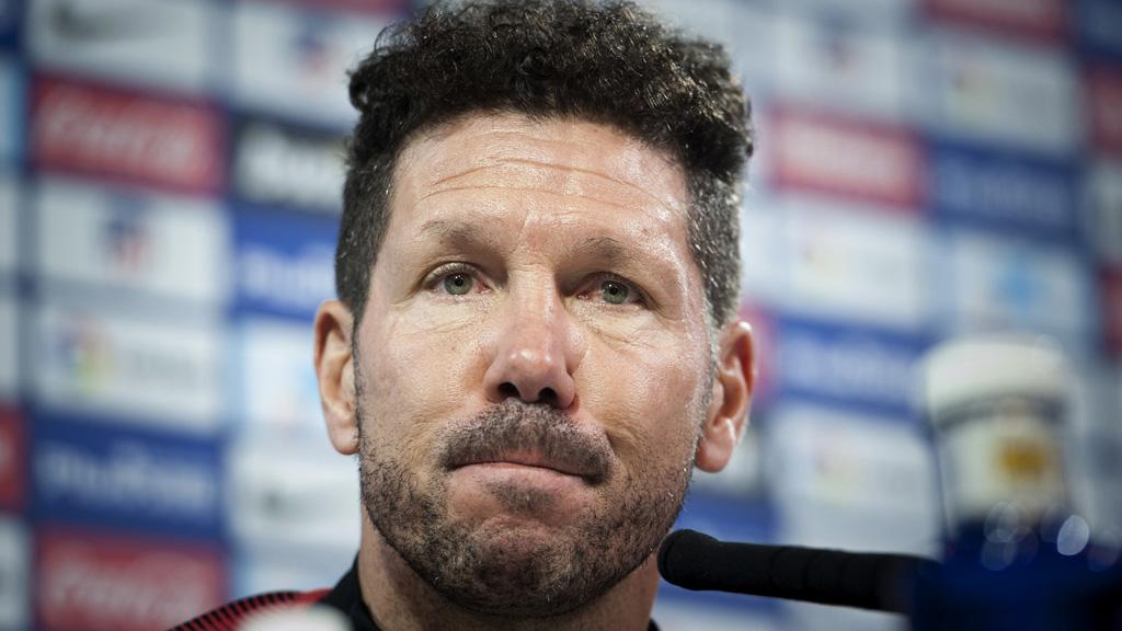 """Simeone: """"Cuando salimos campeones perdimos en Almería y Levante"""""""