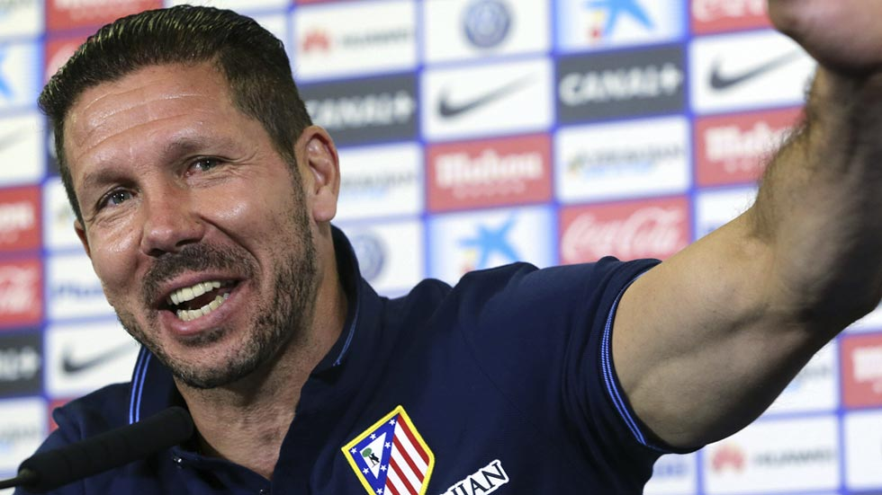 """Simeone: """"Dependemos de nosotros"""""""