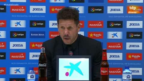 """Simeone: """"Solo pensamos en el Villarreal"""""""