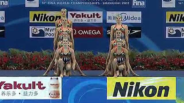 La 'sincro' española consigue 6 medallas de 7