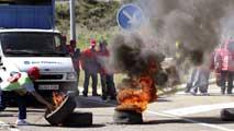 Ir al VideoLos sindicatos aseguran un seguimiento total en la jornada de huelga de la minas de carbón