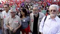 """Ir al VideoLos sindicatos denuncian """"acoso"""" a los que ejercen el derecho de huelga"""