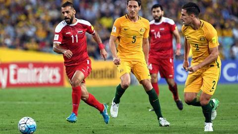 Resultado de imagen de Australia se impone a Siria y se mete en la repesca para el Mundial