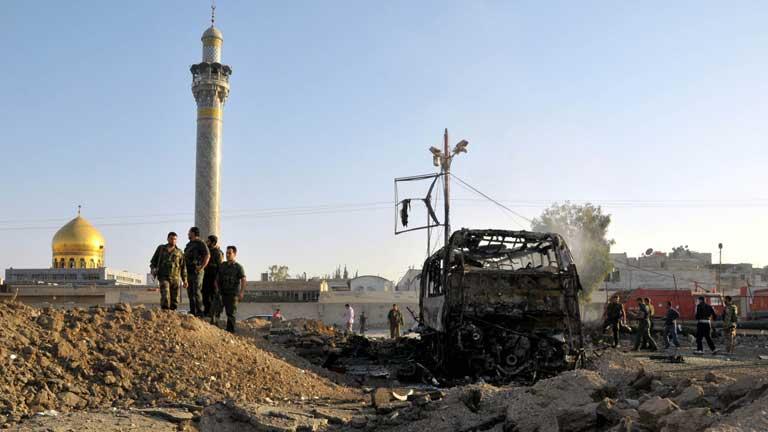 Siria sufre dos atentados con coche bomba