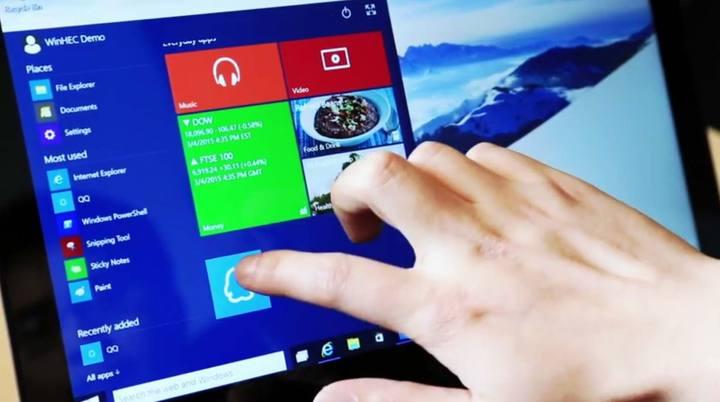 El sistema operativo Windows en su versión en chino.