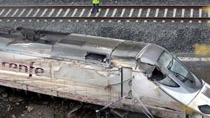 Los trenes como el Alvia que descarriló funcionan con dos sistemas de seguridad