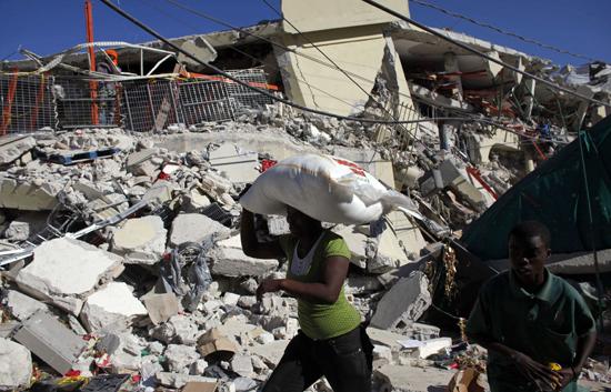 La situación en Haití, y sobre todo en Puerto Príncipe, sigue siendo caótica