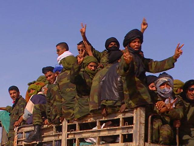 Un equipo de TVE ha comprobado cómo el Frente Polisario está movilizando a reservistas