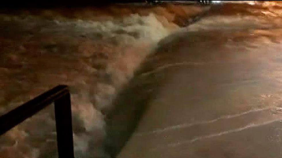 Situación de emergencia en la provincia de Alicante por la lluvia