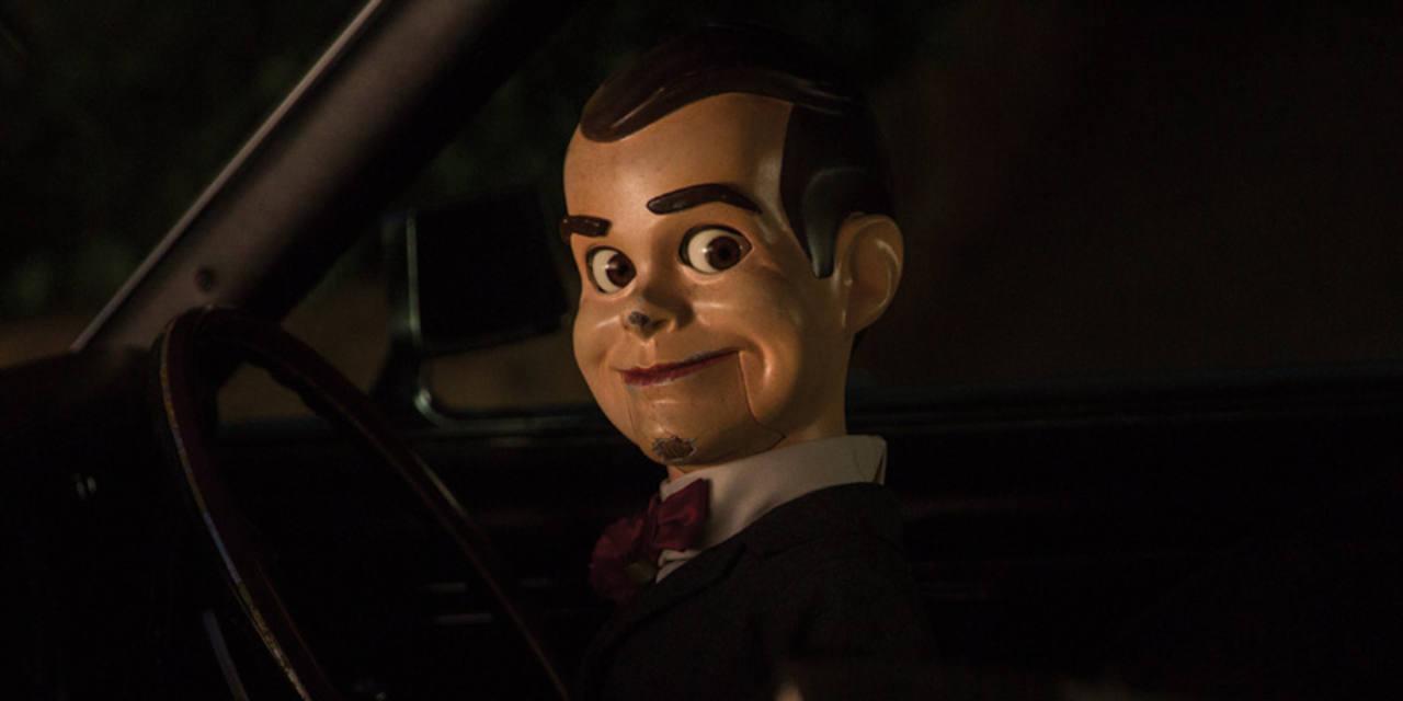 Slappy, el villano de la película, también está interpretado por Jack Black