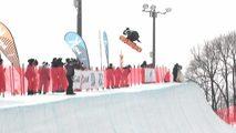 Snowboard Halfpipe - Copa del Mundo desde Sapporo