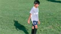 Ir al VideoEl 'soccer' se vuelca con Mili Fernández