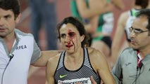 Solange Pereira revalida su título de 1.500 y Nuria Fernández sufre una aparatosa caída