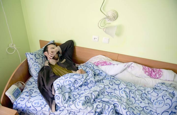 Un soldado ruso capturado en Ucrania