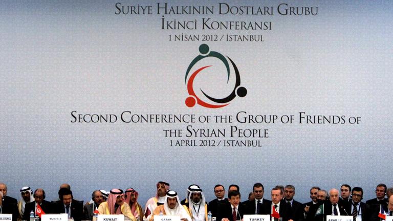 La Conferencia  de los Amigos de Siria apuesta por una solución negociada al conflicto