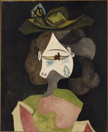 'El sombrero de flores' (10/04/1940). Picasso Pablo. Donativo de Louise y Michel Leiris, 1984.