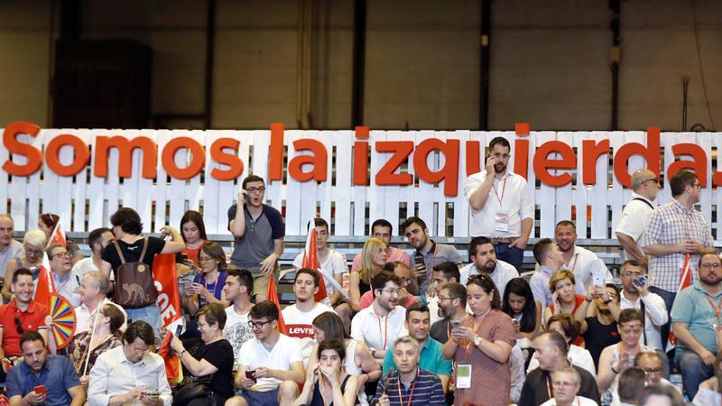'Somos la izquierda', el lema del Congreso del PSOE.