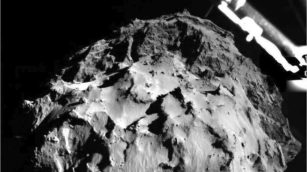 La misión Rosetta de la ESA - Magazine cover