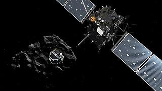 La sonda Philae se separa con éxito de la nave Rosetta y pone rumbo al cometa 67P