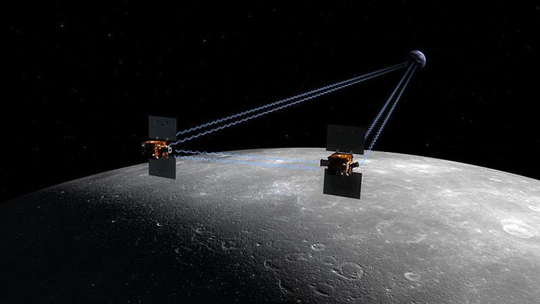 Las sondas GRAIL de la NASA chocarán contra la Luna para finalizar su misión