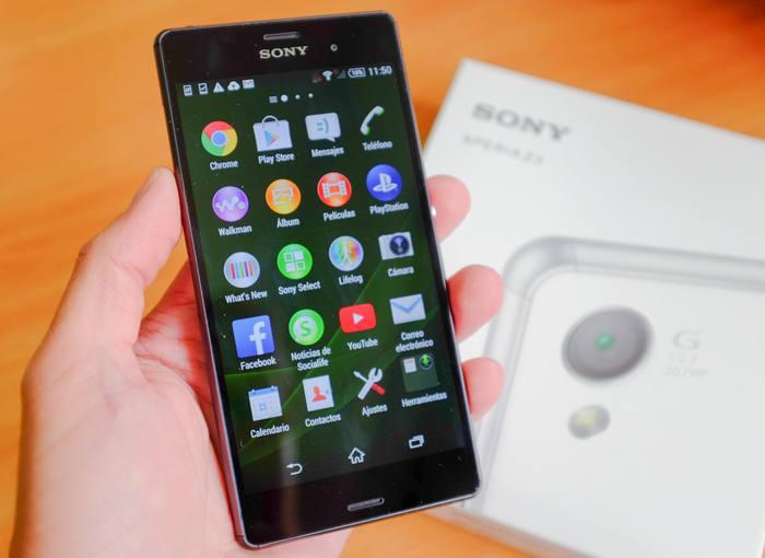 El Sony Xperia Z3 es más fino y algo más ligero que su predecesor.
