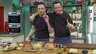 Torres en la cocina - Sopa de almejas y solomillo al pesto