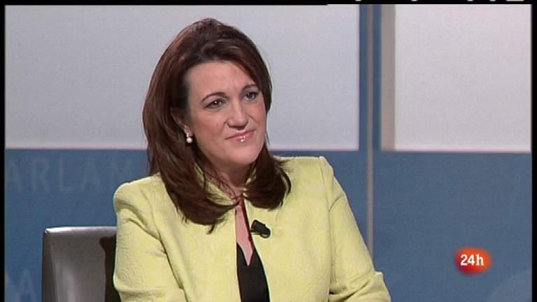 Parlamento - Soraya Rodríguez, portavoz del PSOE en el Congreso