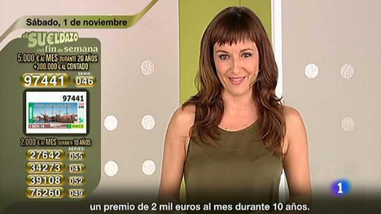 Sorteo ONCE - 01/11/14