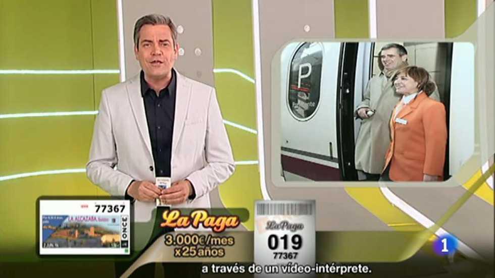 Sorteo ONCE - 02/06/16