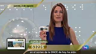 Sorteo ONCE - 02/08/12