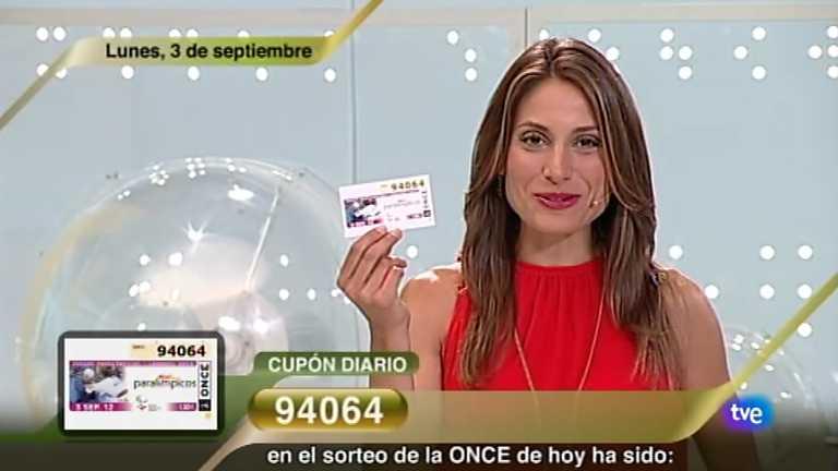 Sorteo ONCE - 03/09/12