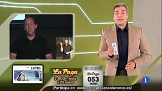 Sorteo ONCE - 03/10/16