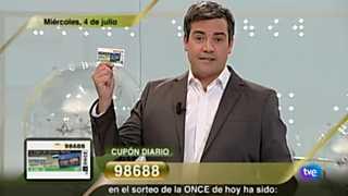 Sorteo ONCE - 04/07/12