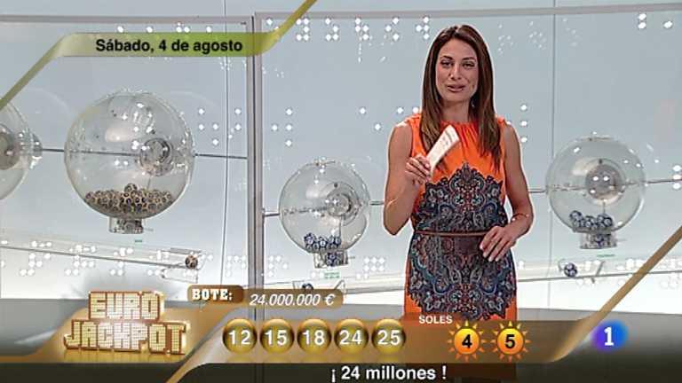 Sorteo ONCE - 04/08/12