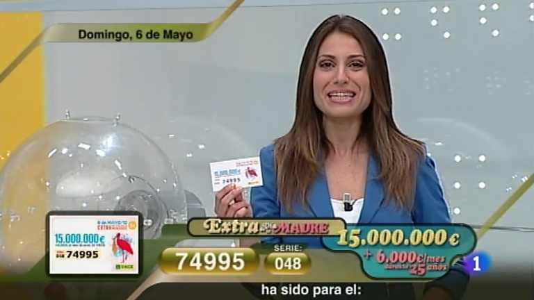 Sorteo ONCE - 06/05/12