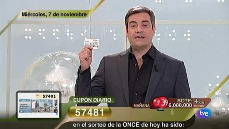 Sorteo ONCE - 07/11/12