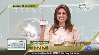 Sorteo ONCE - 10/01/13
