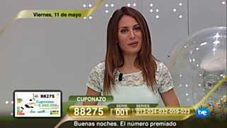 Sorteo ONCE - 11/05/12