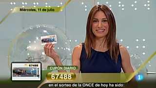 Sorteo ONCE - 11/07/12