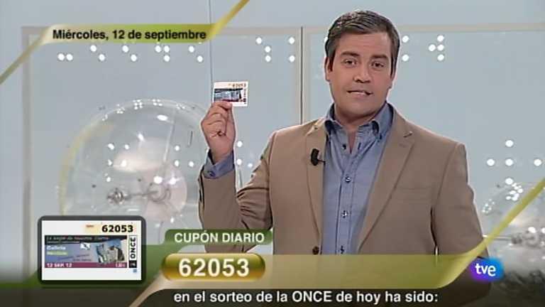 Sorteo ONCE - 12/09/12