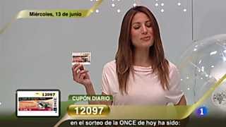 Sorteo ONCE - 13/06/12