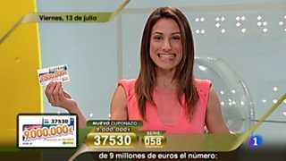 Sorteo ONCE - 13/07/12