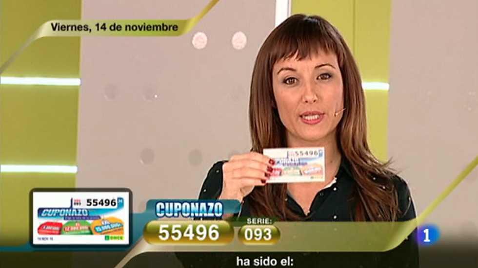 Sorteo ONCE - 14/11/14